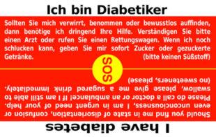 DiabetesCard | SOSCard